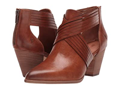 Frye Reed Horizon Bootie (Caramel Antique Pull Up) Women