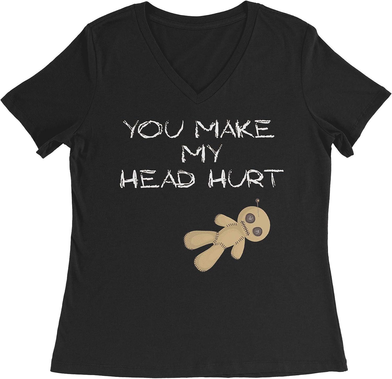 HARD EDGE DESIGN Women's You Make My Head Hurt T-Shirt