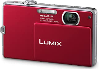 Panasonic Lumix DMC-FP2 14.1 MP Digital Camera with 4x Optical Zoom and 2.7-Inch LCD (Red)