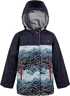Therm Girls Boys Winter Coat, Waterproof Insulated Ski Jacket - Fleece Lined - Kids Youth