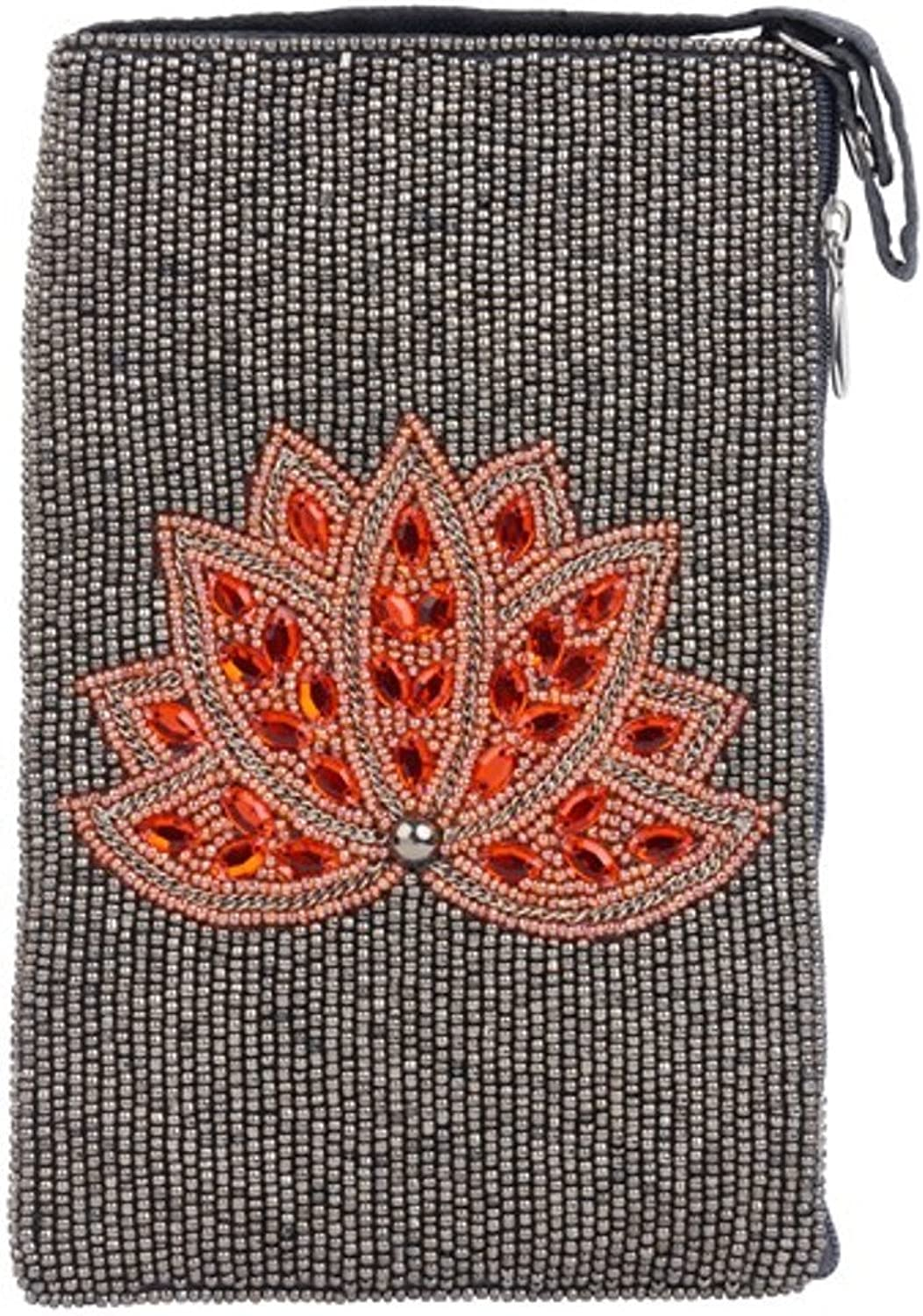 Bamboo Trading Company Cell Phone or Club Bag, Lotus Flame