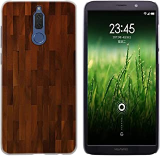 Wood Pattern Fashion Transparent Mobile Phone Bags for Huawei Mate 7 8 9 S 10 20X 20 Lite Pro,005,for Mate 20X