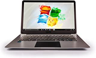 "14.1"" Full HD Windows Laptop PC (Windows 10, 4GB RAM, 32GB Storage, Dual Band 5GHz WIFI (2x WIFI Speeds), T90B+ Pro Model, Lapbook, Intel Quad-Core, USB 3.0, Bluetooth, Laptop Computer"