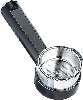 Gaggia Portafiltro pressurizzato Crema Perfetta con braccetto cilindrico, Acciaio