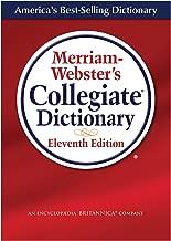 Merriam-Webster's Collegiate Dictionary (Laminated Cover)