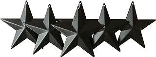metal wall stars art decor
