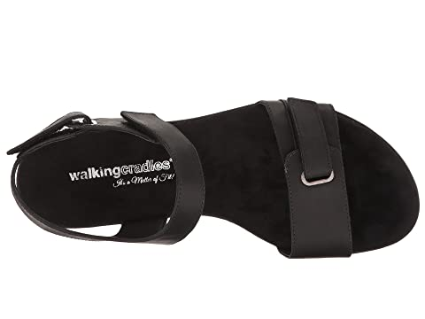 Walking Cradles Halle Black Agata Leather Discount Sast Yg1HToXKf