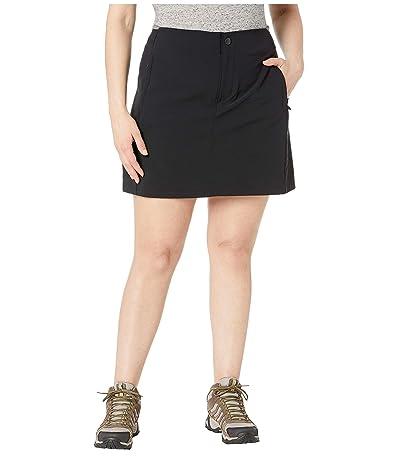 Columbia Plus Size Bryce Peaktm Skort (Black) Women
