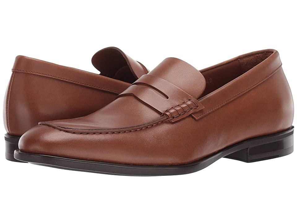 Aquatalia Adamo (Cognac Dress Calf) Men