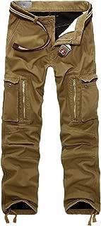 Invierno Terciopelo Hombre Pantalon Laboral Cargo Pants Warm Trousers 29-40