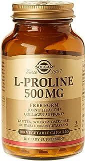 Solgar L-Proline, 500 mg, 100 V Caps (Pack of 1)