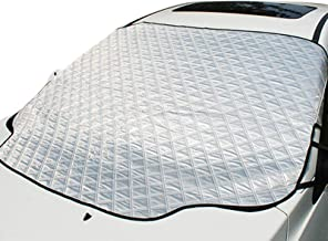 UBEGOOD Car Windshield Snow Cover, Car Windshield Cover for Snow, Ice, Sun, Frost Defense with 4 Layers Protection, Medium...