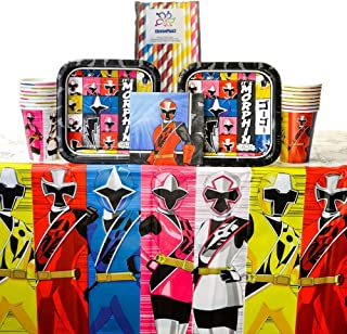 Best pink power ranger birthday party supplies Reviews