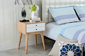 Porthos Home Wright Side Table, White