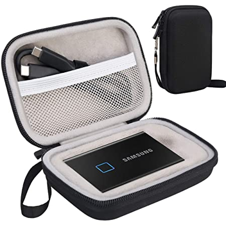 Portable Solid State Drive Hard EVA Carry Case for Samsung SSD T5 QE