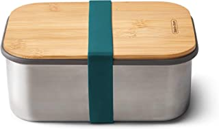 Black+Blum BAM-SB-L005 Stainless Steel Sandwich Box Large - Ocean Lunch, Bamboo & Silicone