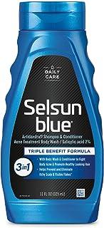 Selsun Blue Active 3-in-1 Dandruff Shampoo, 11 fl oz