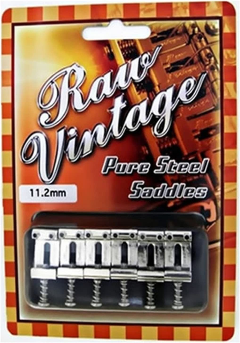 Raw Raleigh Mall Vintage RVS-112 11.2mm Compatible Online limited product Fender USA Steel with Type