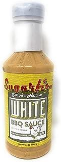 Sugarfire Smoke House | White Zesty & Tangy BBQ Sauce | 18.5 Oz/524.5 G