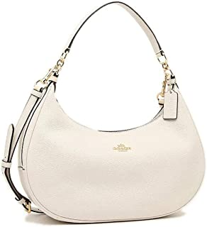 Coach Pebble Leather Harley East West Hobo