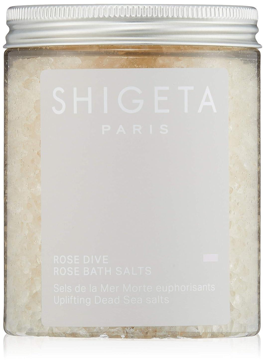 最近現在一節SHIGETA(シゲタ) ローズダイブ バスソルト 285g