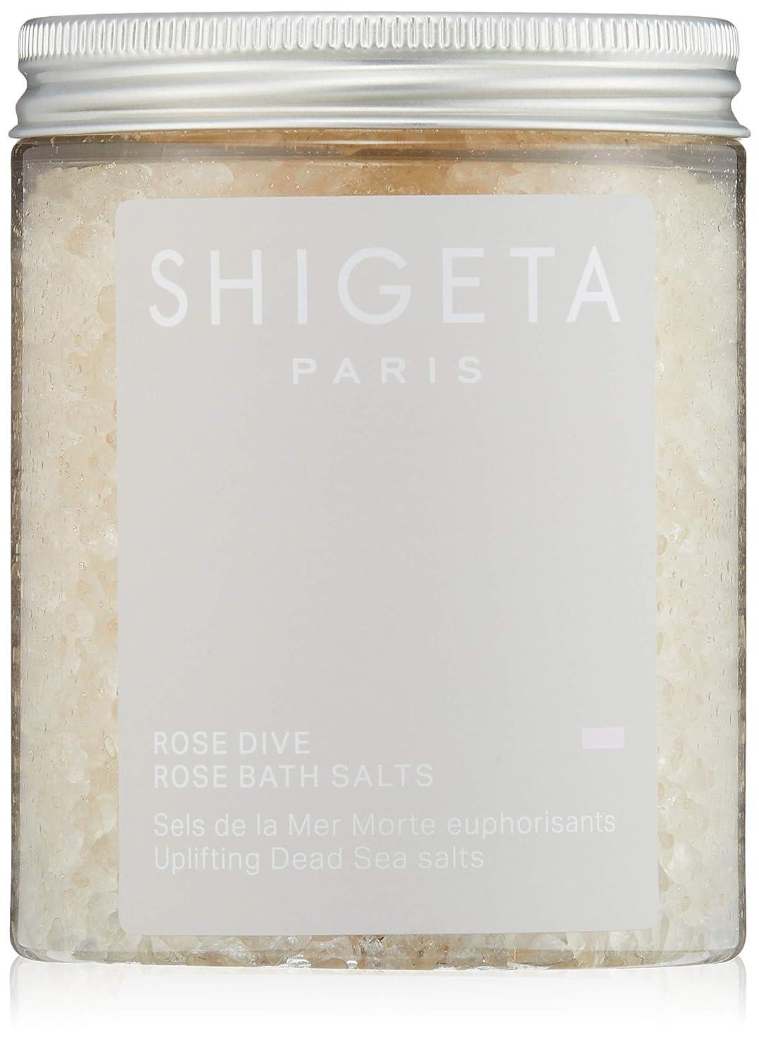 順応性のある核成長するSHIGETA(シゲタ) ローズダイブ バスソルト 285g