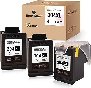 BeneToner Pack 3 cartucce compatibili per HP 304XL 304 XL per HP Envy 5010 5020 5030 5032 Deskjet 2620 2622 2630 2632 2633...
