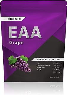 MAGINA EAA サプリ アミノ酸 パウダー 750g 穀物酵素エキス ダイジェザイム カルノシン βアラニン ビフィズス菌 OLP-1 必須アミノ酸 粉末 プロテイン サプリメント マギナ スイート グレープ