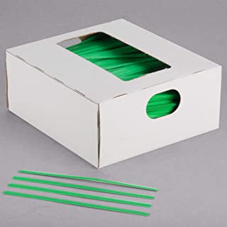 green paper twist ties
