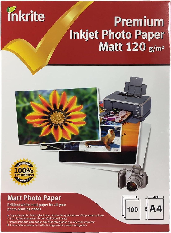 400 Blatt Inkrite A4 120 g m² m² m² einseitig matt (matt) Inkjet Fotopapier B077TWQRS3   Vielfältiges neues Design    Mittlere Kosten    Ausgezeichneter Wert  df151e