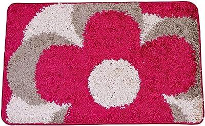 ToRhine Home Door Mat Outdoor Indoor Carpet, Welcome Doormat Fiber Front with Non Slip TPR Rubber Backing, Machine Washable Soft Entryway Area Rug