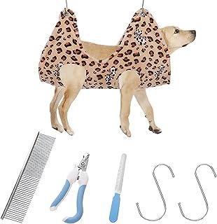 6 عدد مهاربند حموک برای مراقبت از حیوان خانگی ، کمربند حمام برای مراقبت از حیوان خانگی ، کیسه مهار کننده سگ حوله ای خشک کننده و گربه حمام برای نظافت و شستن ناخن ، حمام لوازم خانگی