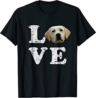 I Love My Yellow Lab T-Shirt   Labrador Retriever Dog Tee