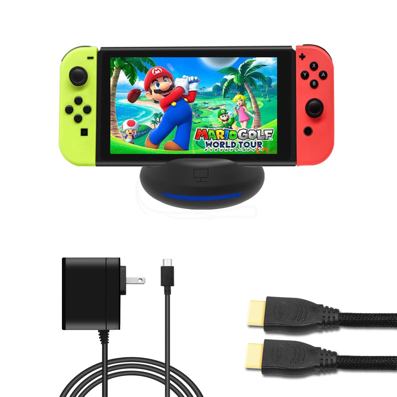 Amazon Com J Top Portable Dock Set For Nintendo Switch Computers Accessories