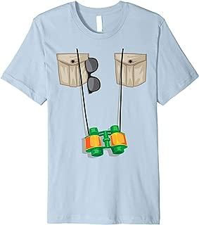 Zoo Keeper Halloween Costume DIY Jungle Safari Explorer Gift Premium T-Shirt