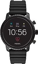 Fossil Men's Gen 4 Explorist HR Stainless Steel Touchscreen Smartwatch with Heart..