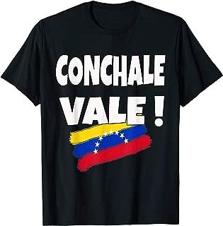 Conchale Vale Franelas Frase Venezolana Camisetas Venezuela T-Shirt