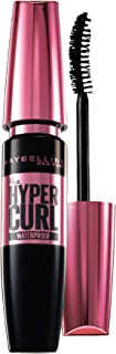 Maybelline New York Hypercurl Mascara Waterproof, Black, 9.2ml