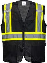 Portwest Iona Tampa Mesh Vest Work Safety Protective Clothing Vest Pocket Adjustable Strap