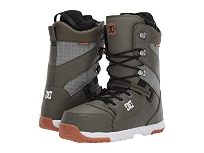 DC Mutiny Lace Snowboard Boot (Olive Night) Men