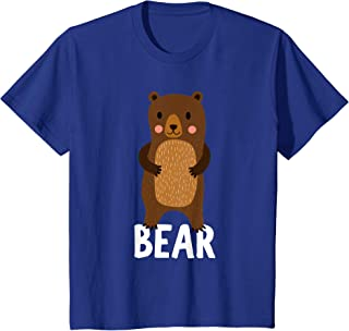 Kids Bear Shirt For Boys Or Girls | Cute Bear Gift