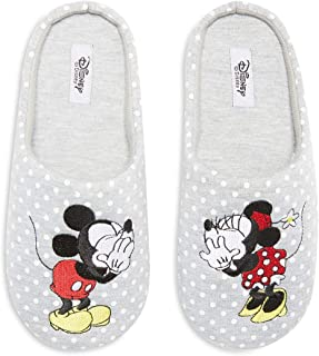 a30c346a8e366 Primark Licence Disney Minnie Mickey Mouse Chaussons Mules à Enfiler Taille  S M L