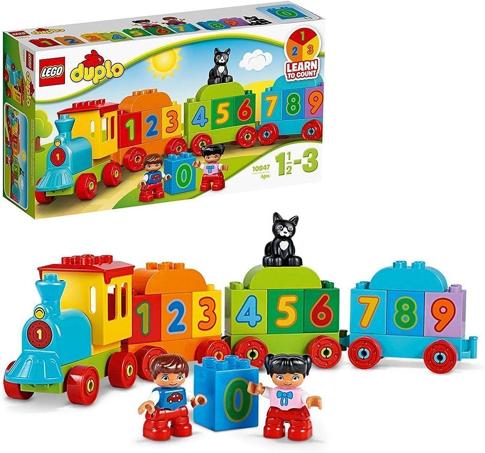 Duplo,set costruzioni il treno dei numeri 10847