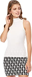 Stradivarius Tank Tops For Women, M, White