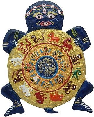 Divya Mantra Feng Shui Turtle Wall Hanging