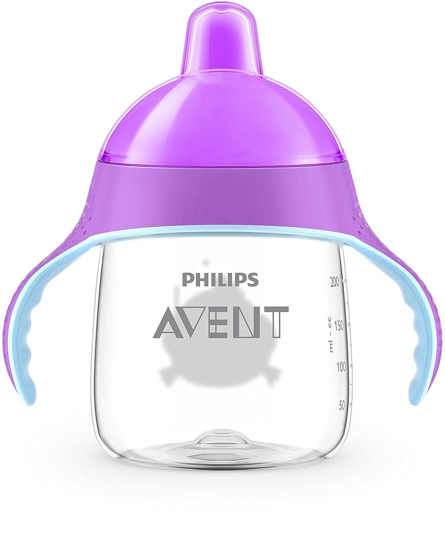 Philips Avent Trinklernbecher SCF753//07 ab 12.Monat pink bei/ßfester Trinkschnabel 260ml
