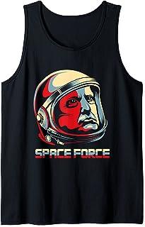 Drôle de président Donald Trump Space Force Débardeur