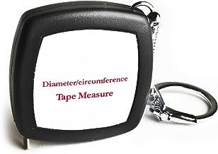Fita métrica perfeita – Fita de precisão de bolso e fita de diâmetro, medida e ferramenta de bolso para layout em métrica ...