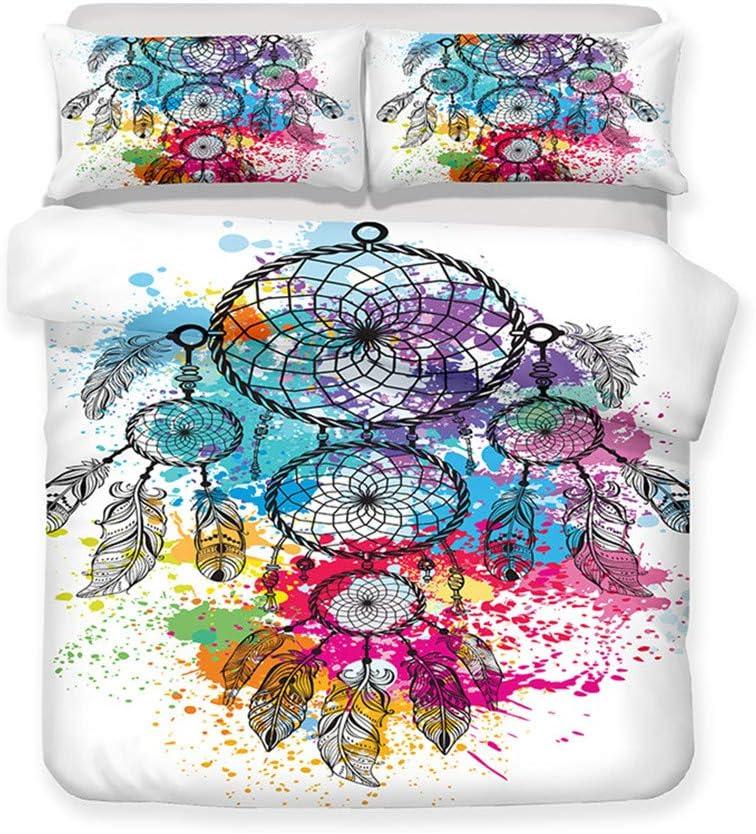 迅速な対応で商品をお届け致します LanS Bohemia Dreamcatcher 当店一番人気 Animal Cover Bedding Set Duvet