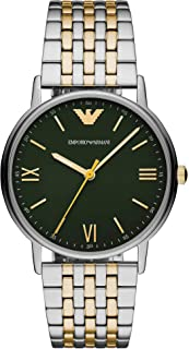 Emporio Armani Mens Analogue Quartz Watch with Stainless Steel Strap AR11228